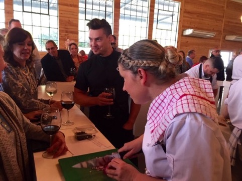 Chef and Guest Judge, Ben Ungermann with Chef Tronette Dippenaar