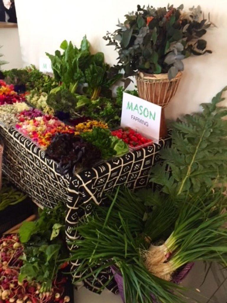 Mason Farming's fresh produce