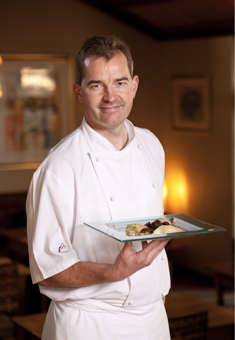 A glimpse into the life of Harald Bresselschmidt – owner and chef of Aubergine Restaurant
